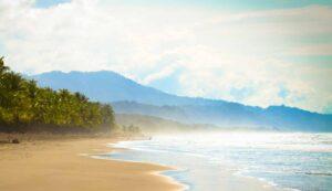 playa linda in the morning beautiful photo