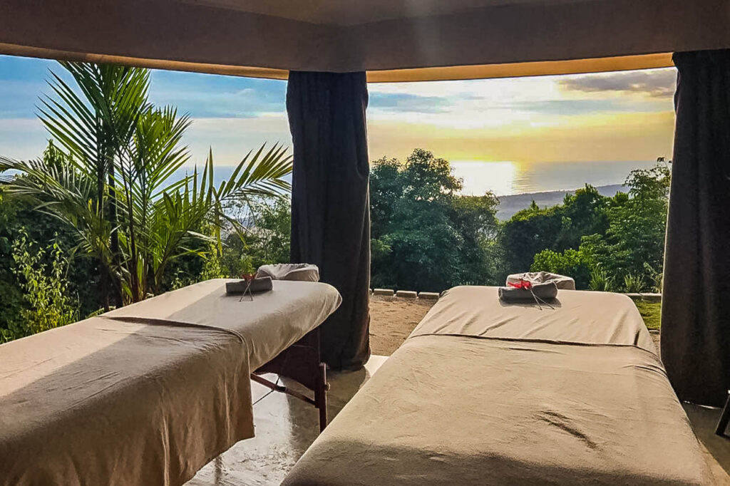Spa Massage Kalon Surf Camp in Costa Rica