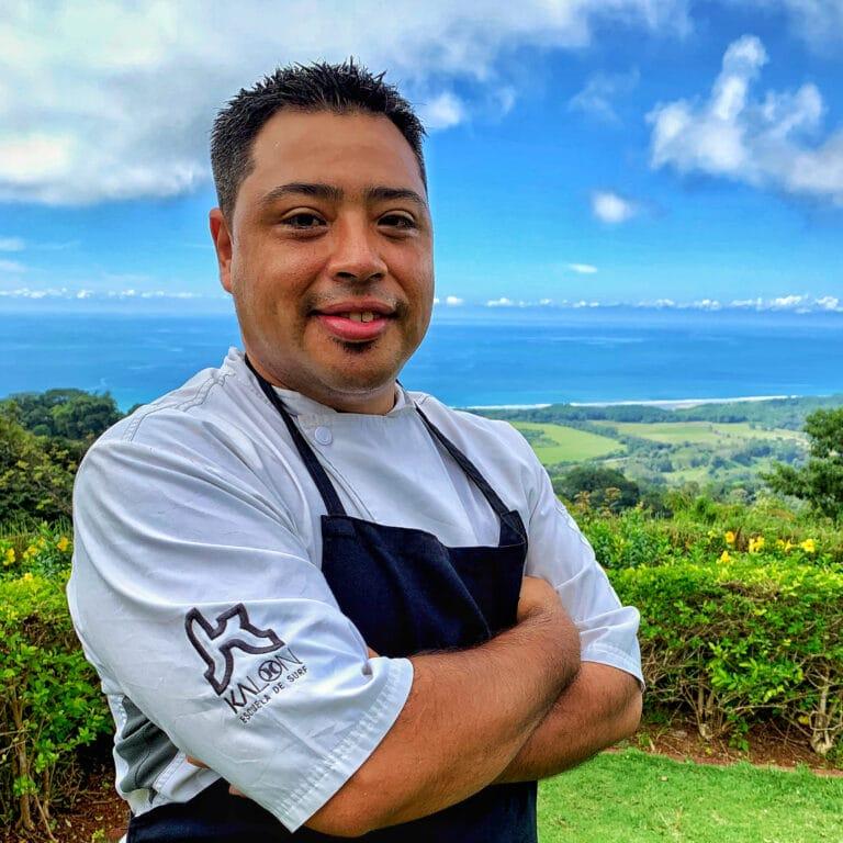 Chef Kalon Surf Resort Costa Rica Andres